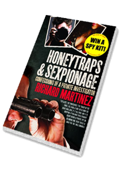 Honeytraps and Sexpionage Book - Richard Martinez